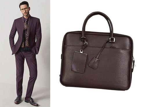 Мужская сумка с ручками Prada