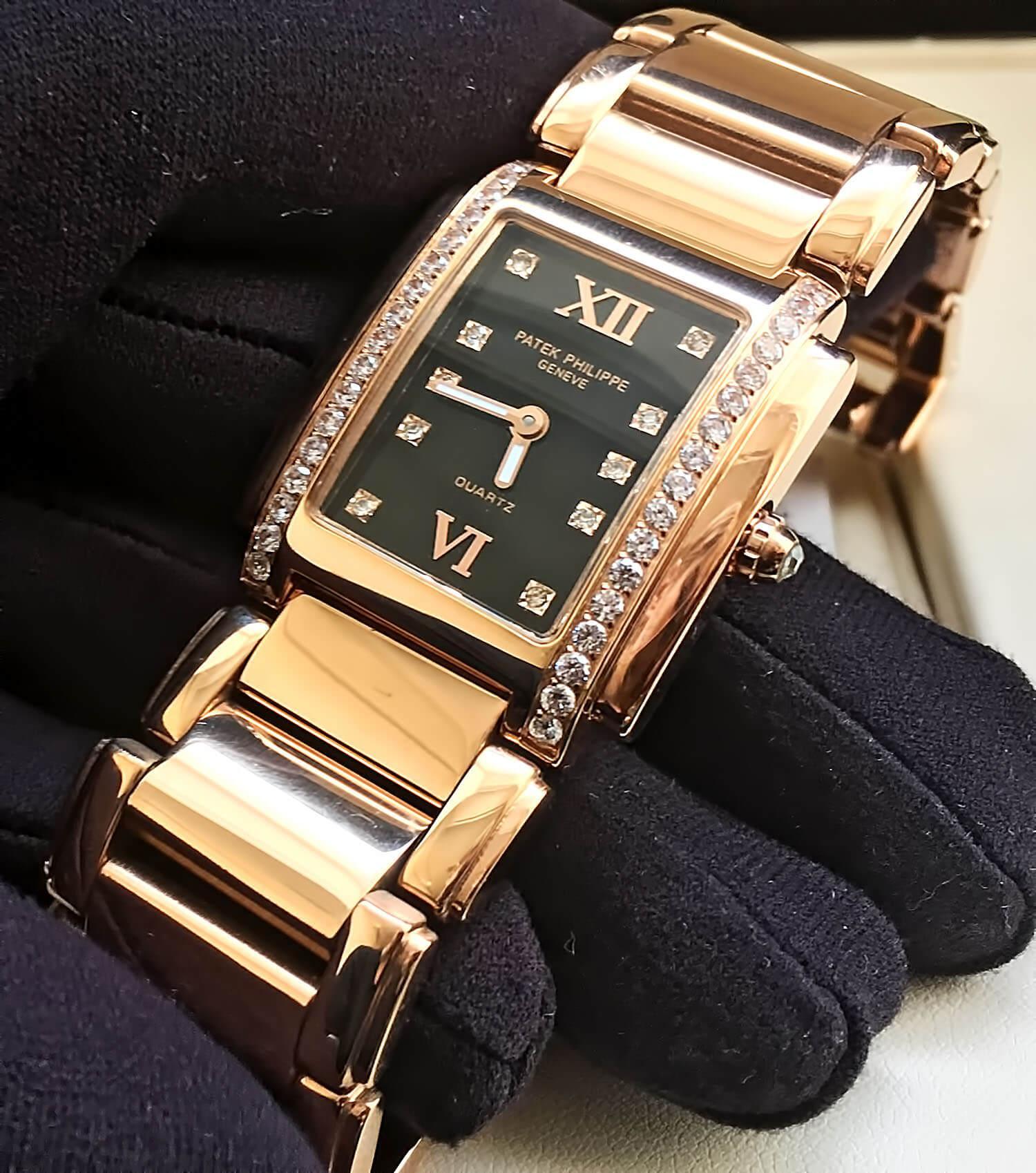 Женские наручные часы-копия Patek Philippe Twenty-4