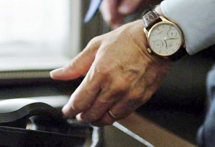 Карточный домик: часы Кевина Спейси Portuguese 7-Day Automatic 5001 от IWC