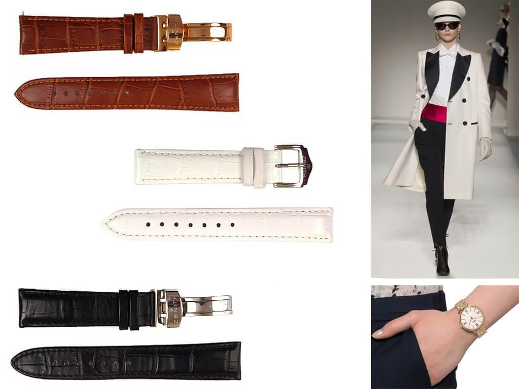 Женские кожаные ремешки для часов Zenith