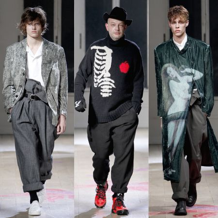 Йоши Ямамото мужская одежда