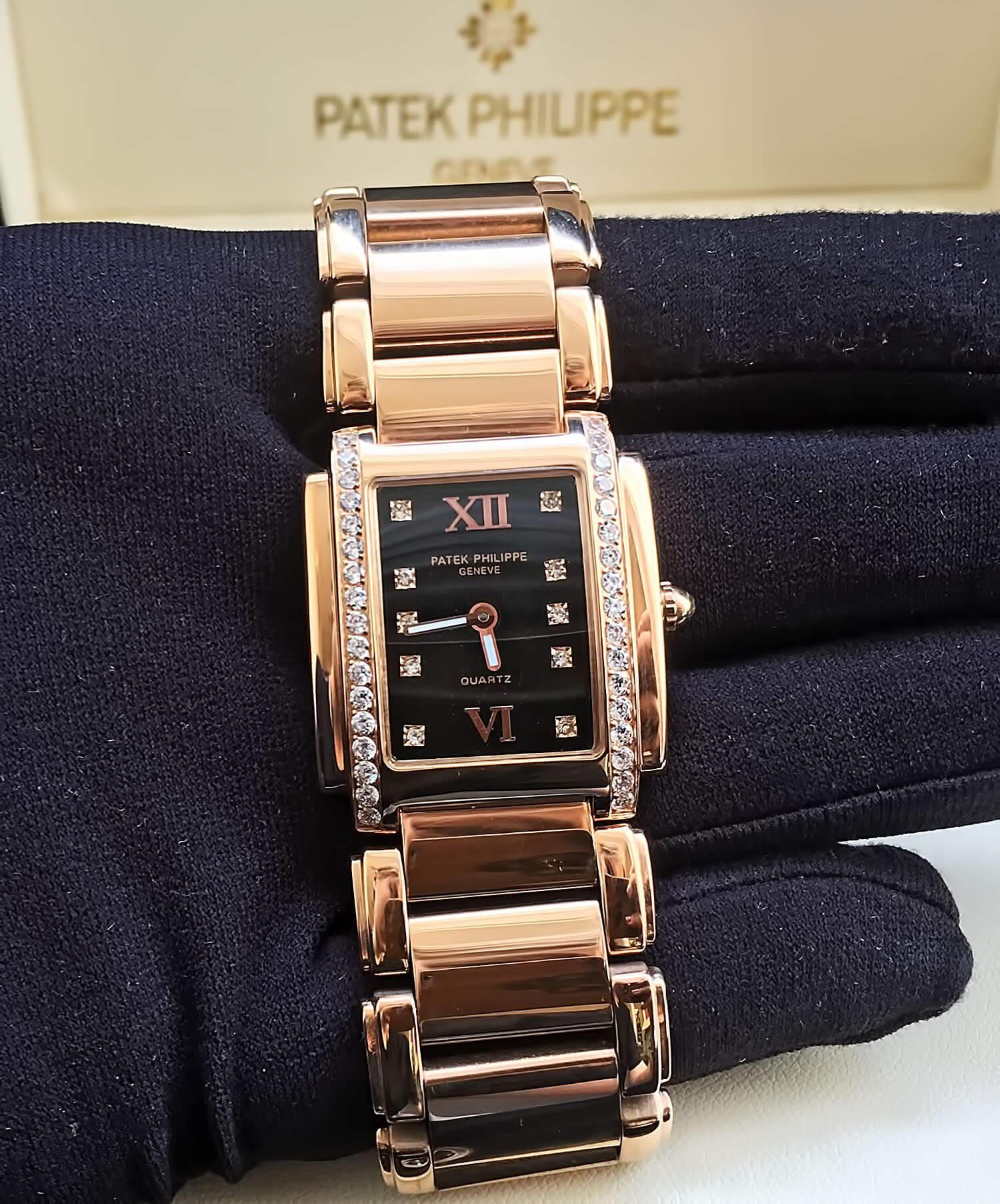 Циферблат реплики часов Patek Philippe Twenty-4