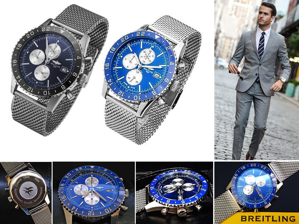 Мужские часы Breitling Chronoliner