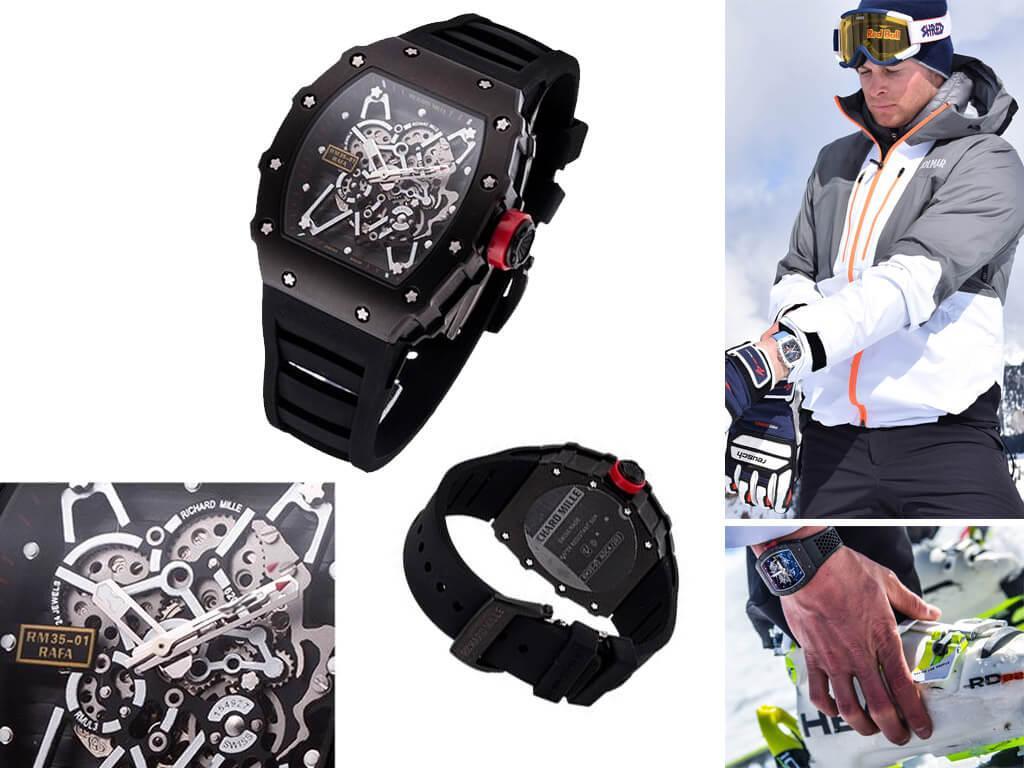 Мужские часы RM 035-01 Rafael Nadal Richard Mille