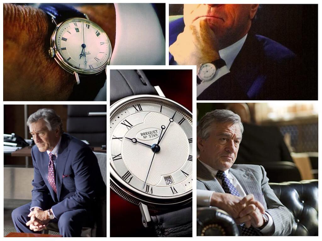 Области тьмы (2011): часы Карла Ван Луона (Роберта де Ниро) Breguet Classique Automatic 5197BA