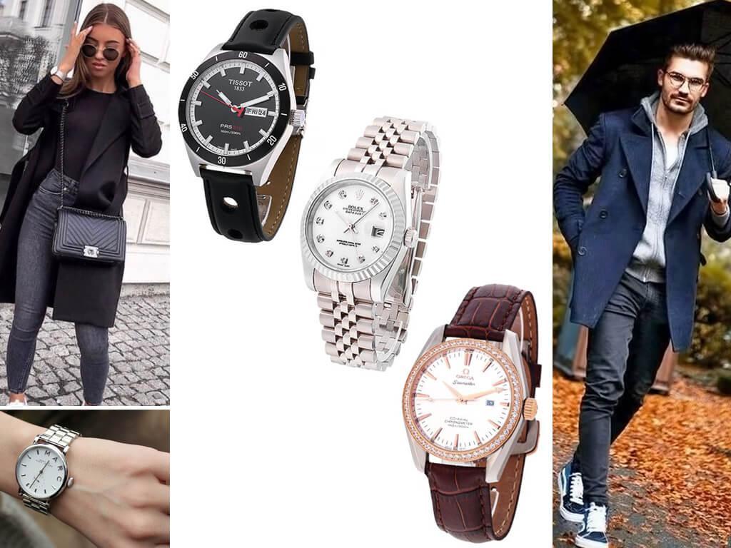 Наручные часы в стиле casual