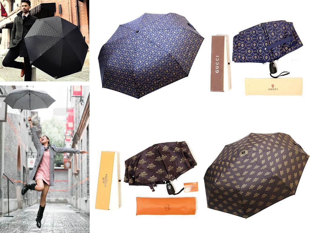 Дождевой зонт предназначен для защиты от дождя, на пляже он бесполезен