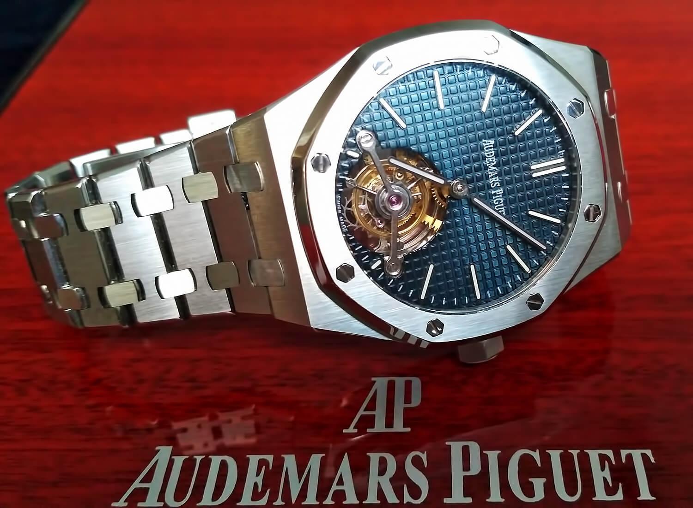 Высокоточная реплика швейцарских часов Audemars Piguet Royal-Oak Tourbillon Extra-Thin