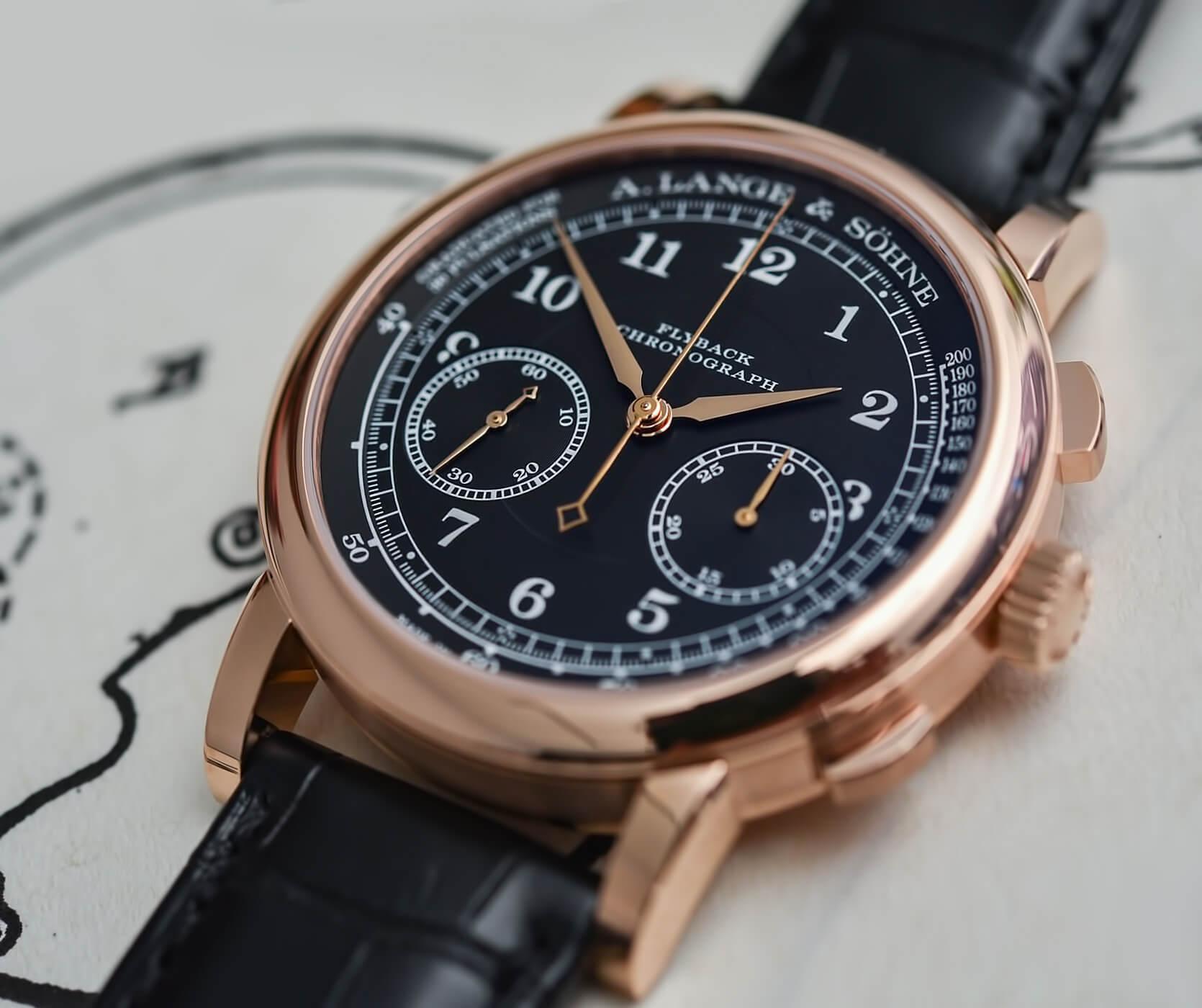Наручные часы A. Lange & Söhne с ручным заводом