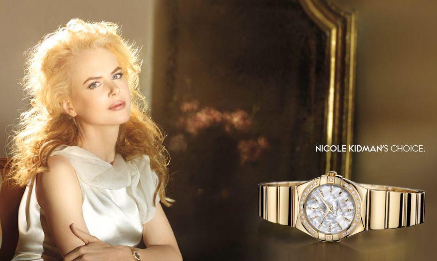 Часы Николь Кидман Omega