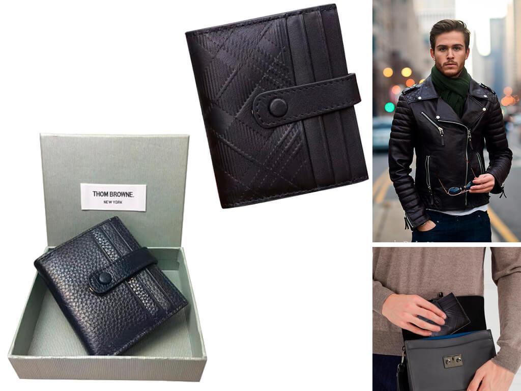 Мужской бумажник Том Браун
