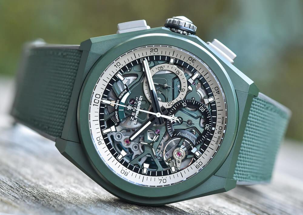 Спортивные часы Zenith Defy 21 Urban Jungle