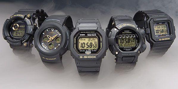 Коллекция часов Сasio G-Shok