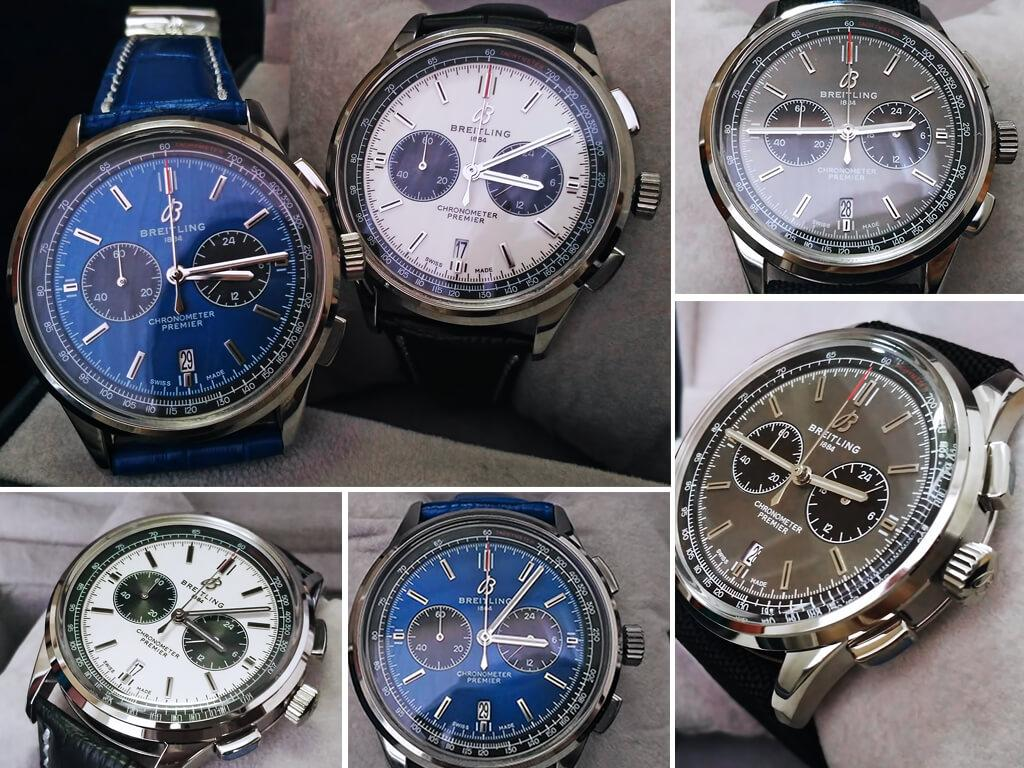 Циферблат реплик Breitling Premier B01 Chronograph 42
