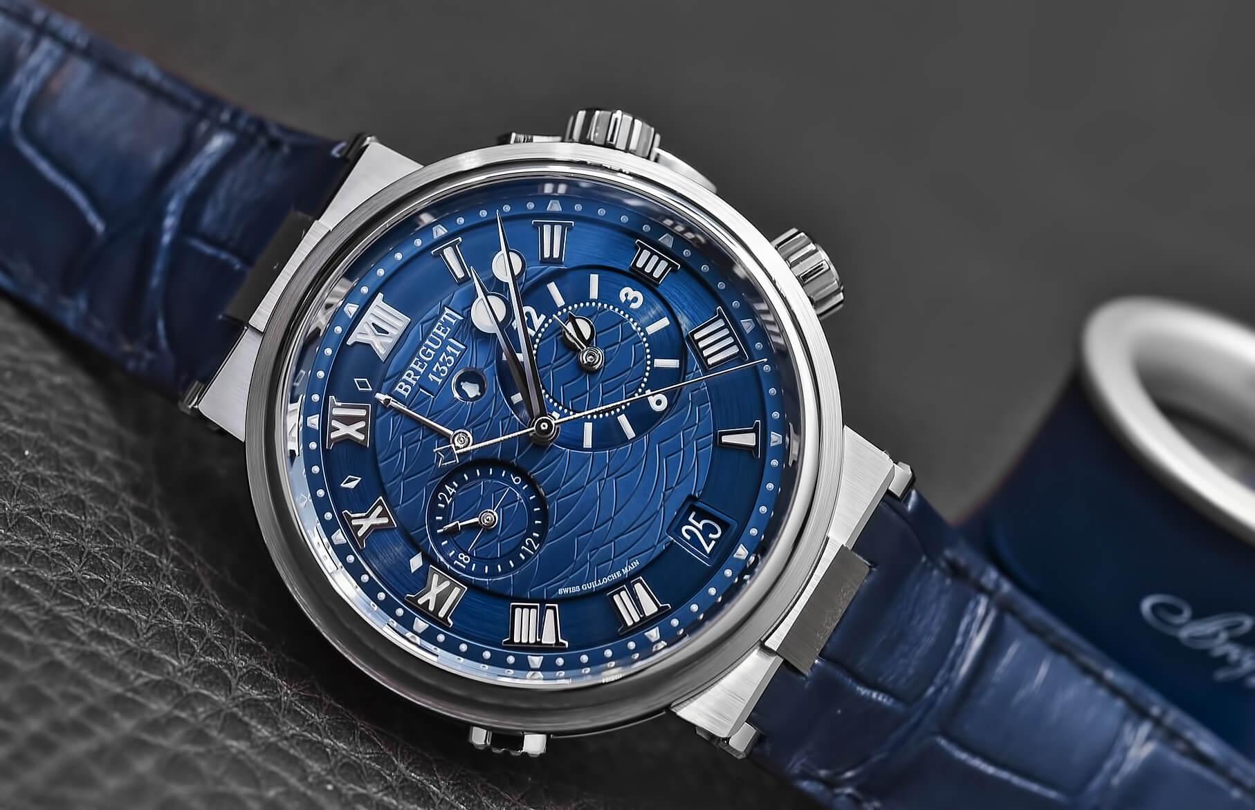 Швейцарские часы Breguet Marine Alarme Musicale 5547