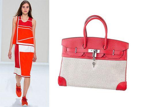 Женская сумка Биркин Hermes