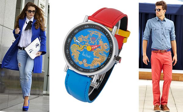 Часы Alain Silberstein с синим циферблатом