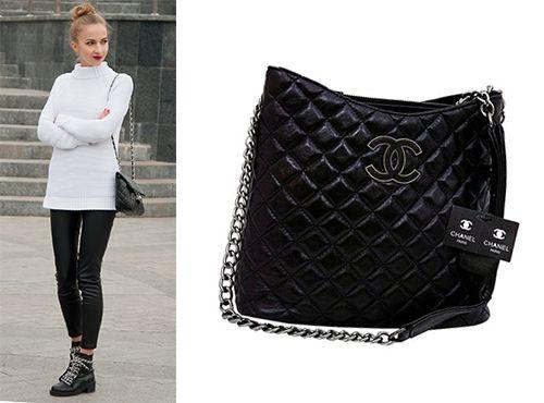 Женская кожаная сумка от Chanel