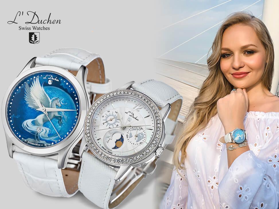 Часы возрожденной марки L'Duchen