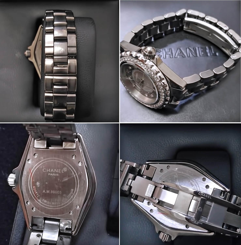 Часы Chanel J12 Chromatic Diamond оснащены скрытой застежкой