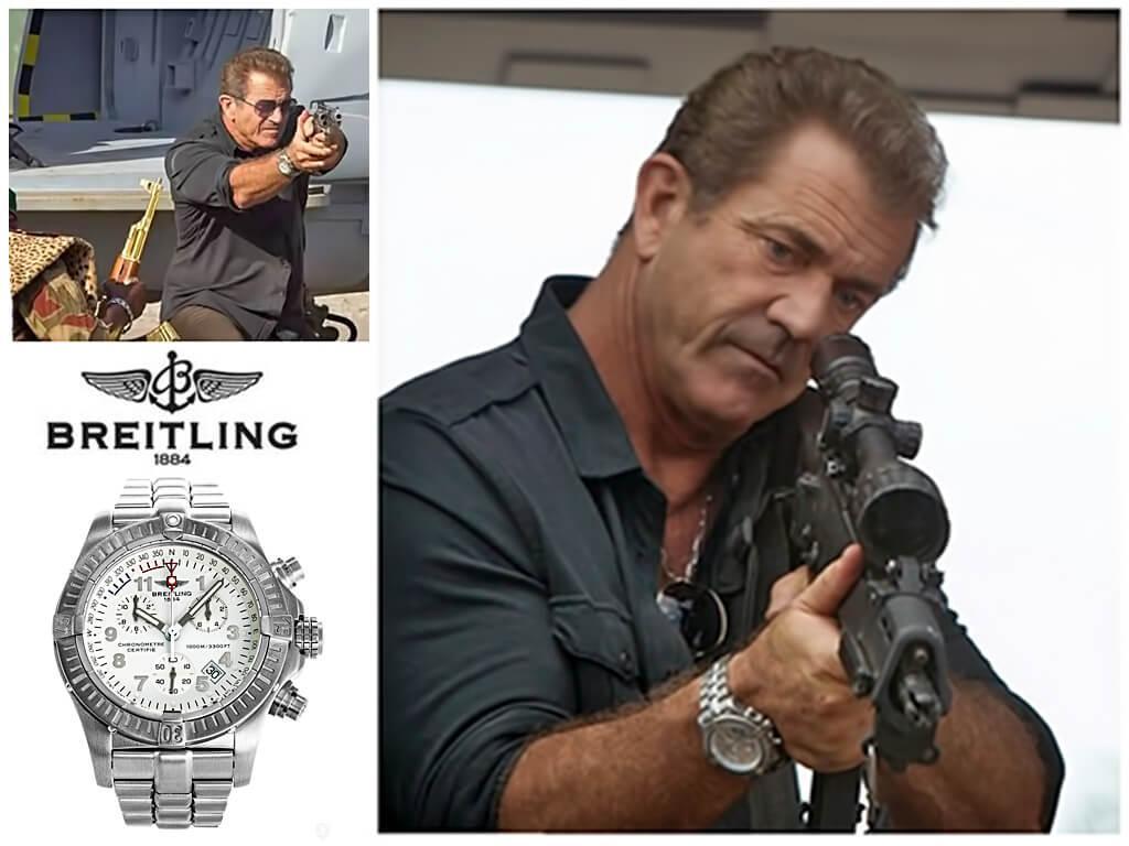 Часы Мела Гибсона Breitling Chrono Avenger M1