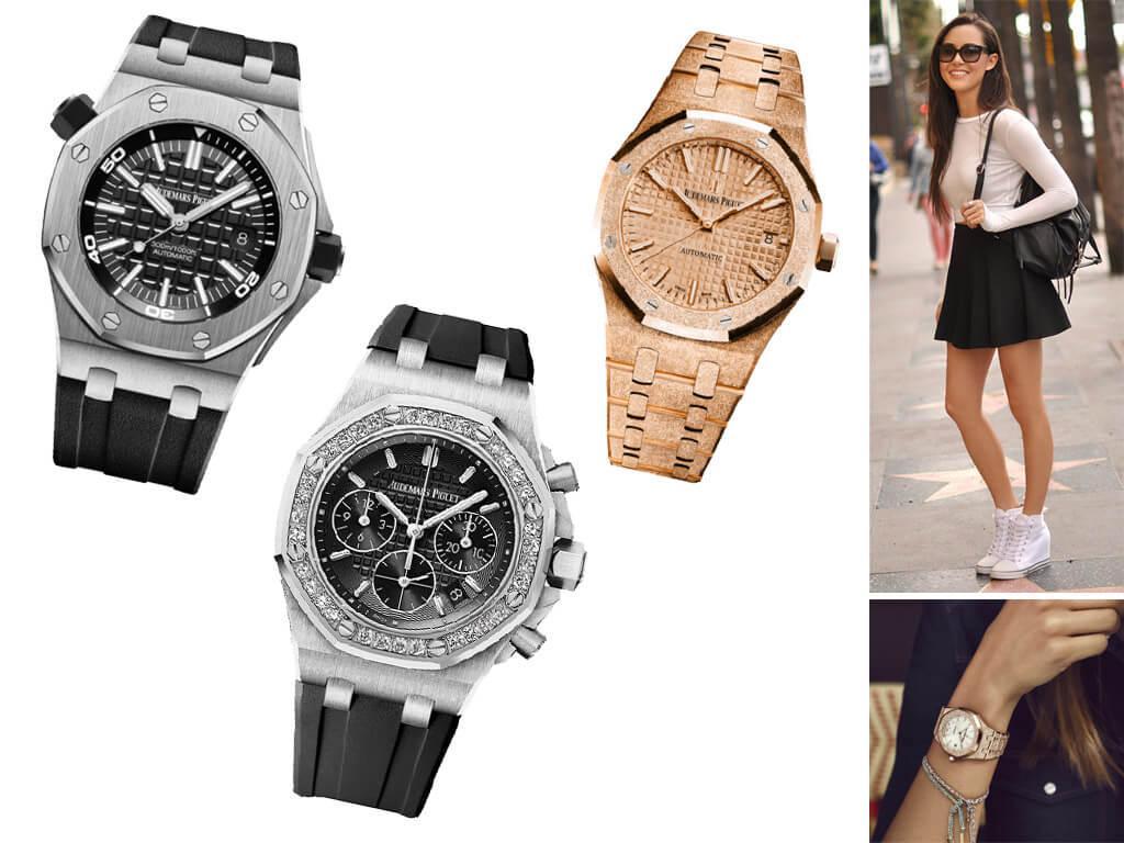 Настоящие часы Audemars Piguet для женщин