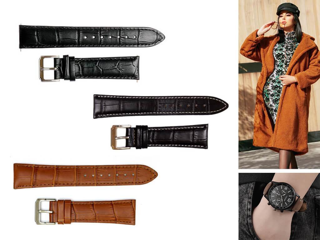 Кожаные браслеты для женских часов Breguet