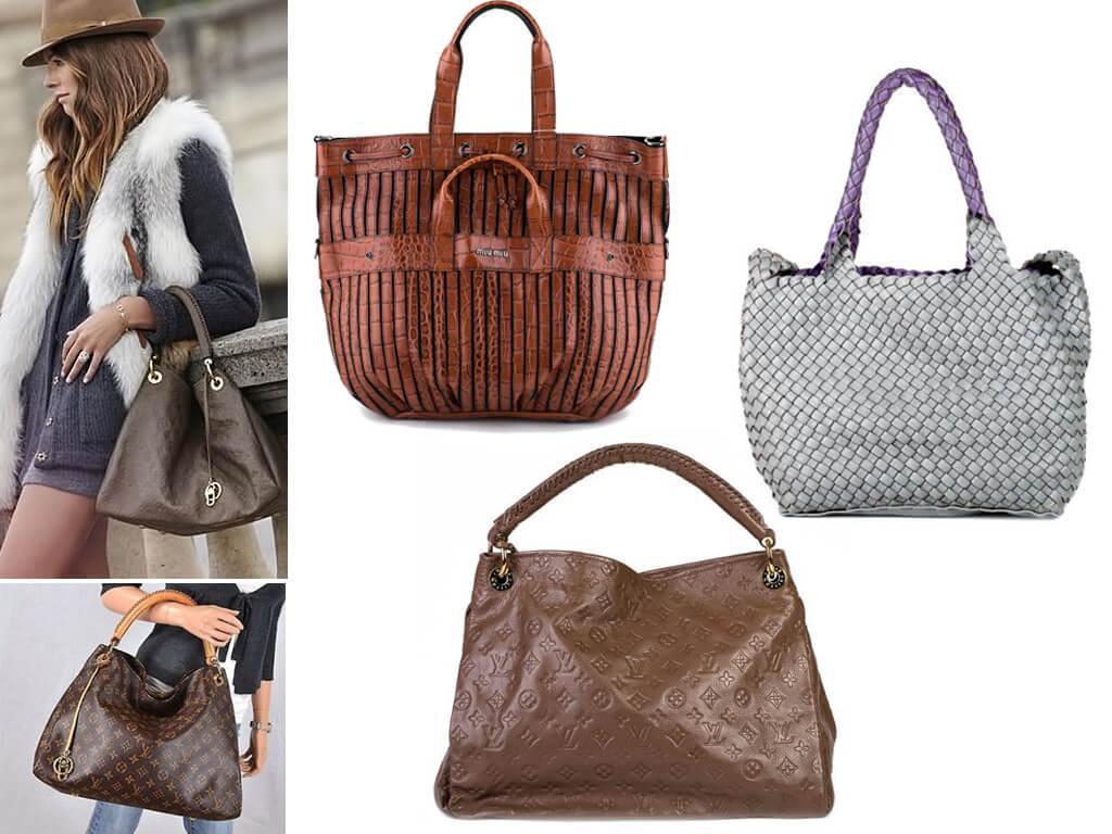 Женские сумки без застежки
