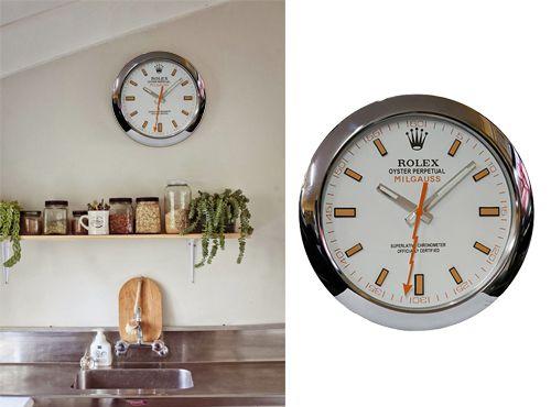 Часы Rolex на стену