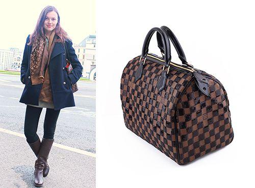 Женская сумка с короткими ручками Louis Vuitton