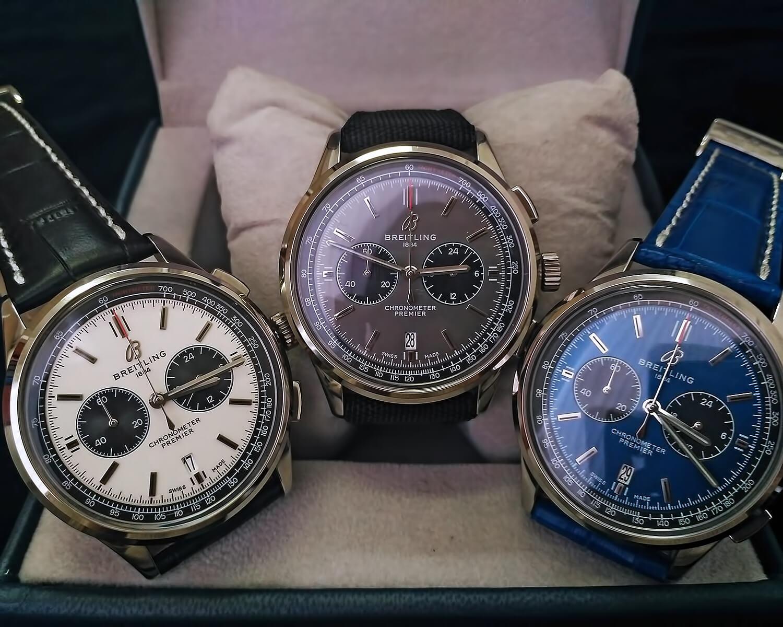 Реплики мужских часов Breitling Premier B01 Chronograph 42