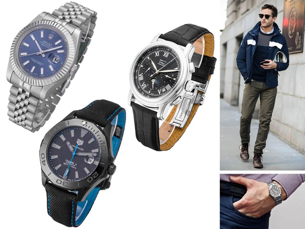 Мужские наручные часы с автоподзаводом