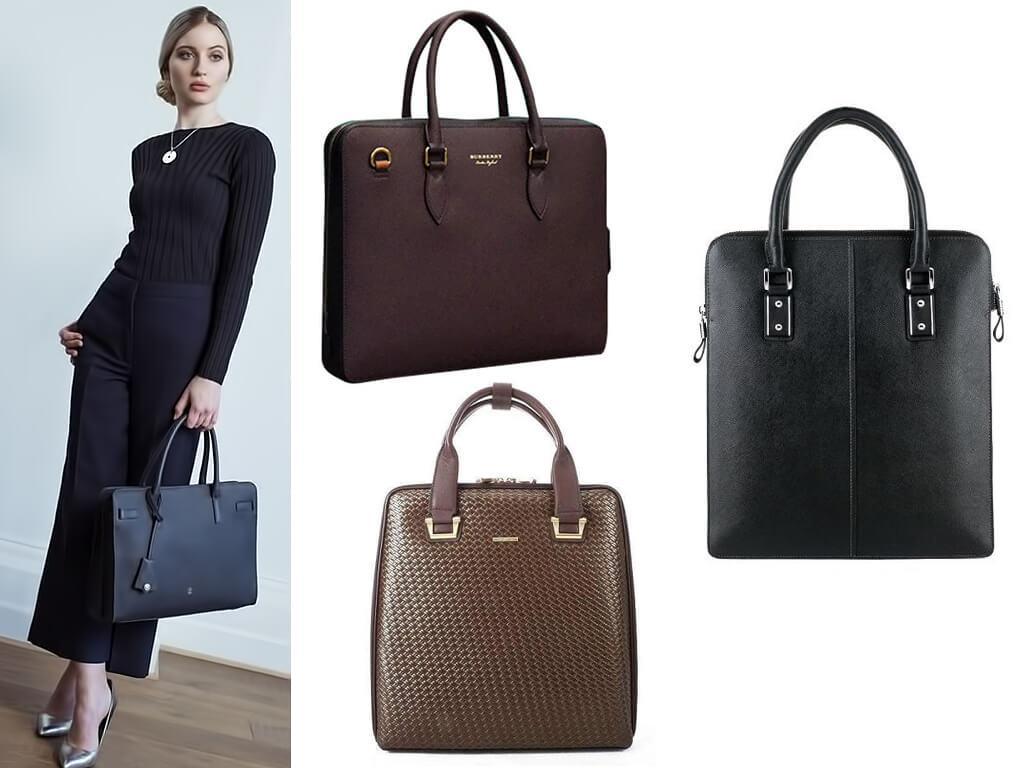 Деловые сумки женские
