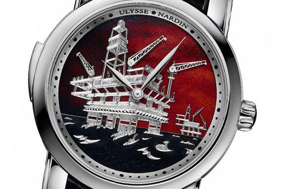 North Sea Minute Repeater (Норс Си Минут Рипетир) in silver от Ulysse Nardin