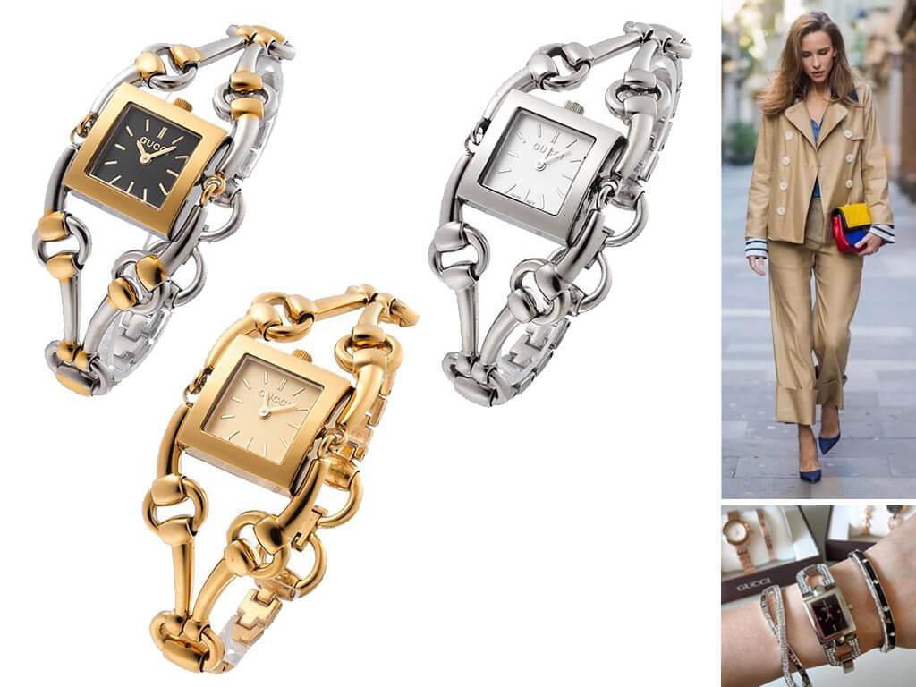 Женские часы Gucci 112 Twirl