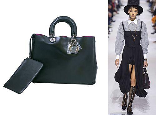 Женская сумка из кожи от Dior