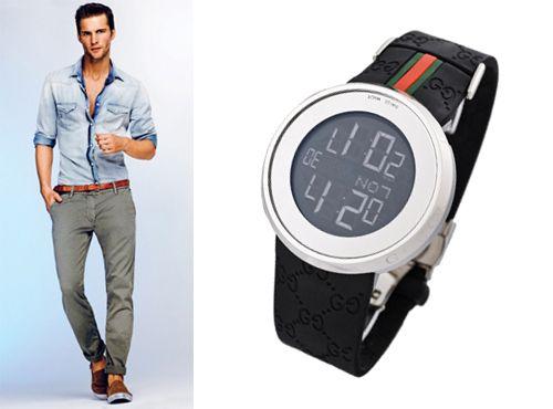 Мужские часы Gucci