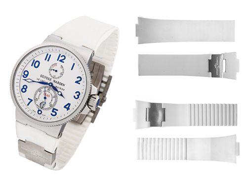 Ремень для часов Ulysse Nardin белый