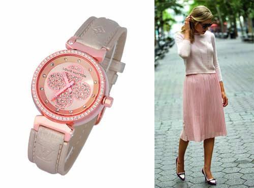 Часы от Louis Vuitton