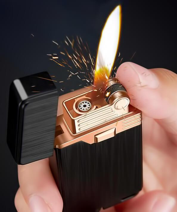Зажигалка с кремниевым запалом