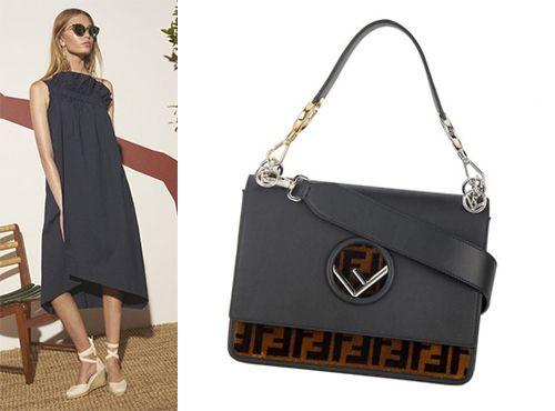 Женская сумка Фенди Kan I Bag Bugs
