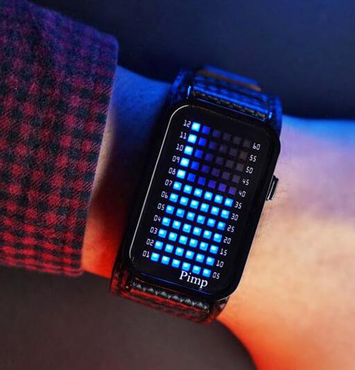 Бинарные часы - стильный, а главное необычный и полезный аксессуар
