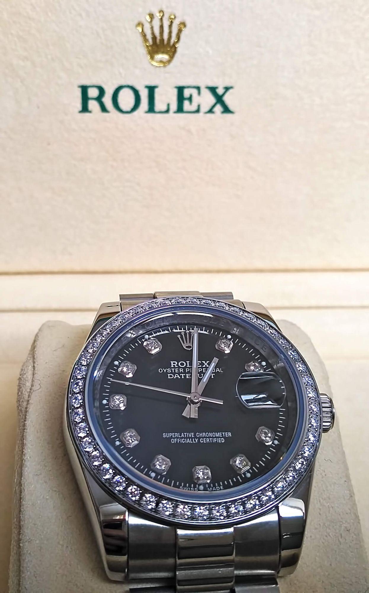 Часы Rolex Oyster Datejust - образец классического дизайна