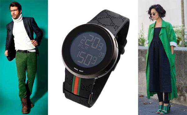 Часы от Gucci с будильником
