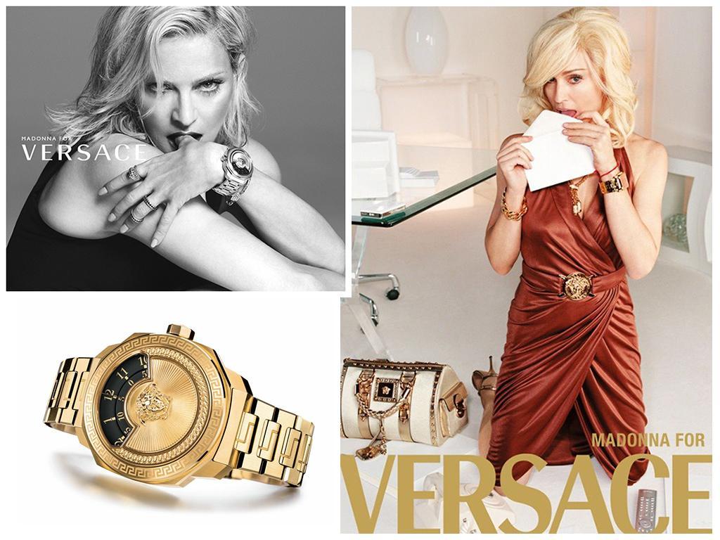 Часы Мадонны от Versace