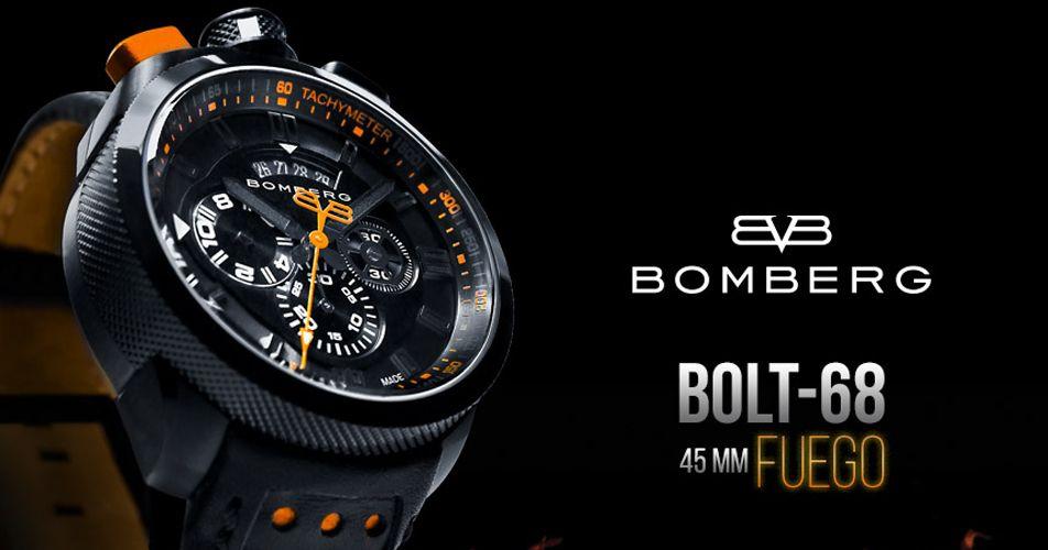 Часы Bomberg Bolt-68 (Болт-68)