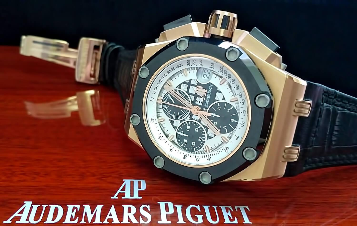 Реплика мужских швейцарских часов Audemars Piguet Royal Oak Offshore Rubens Barrichello II Chronograph