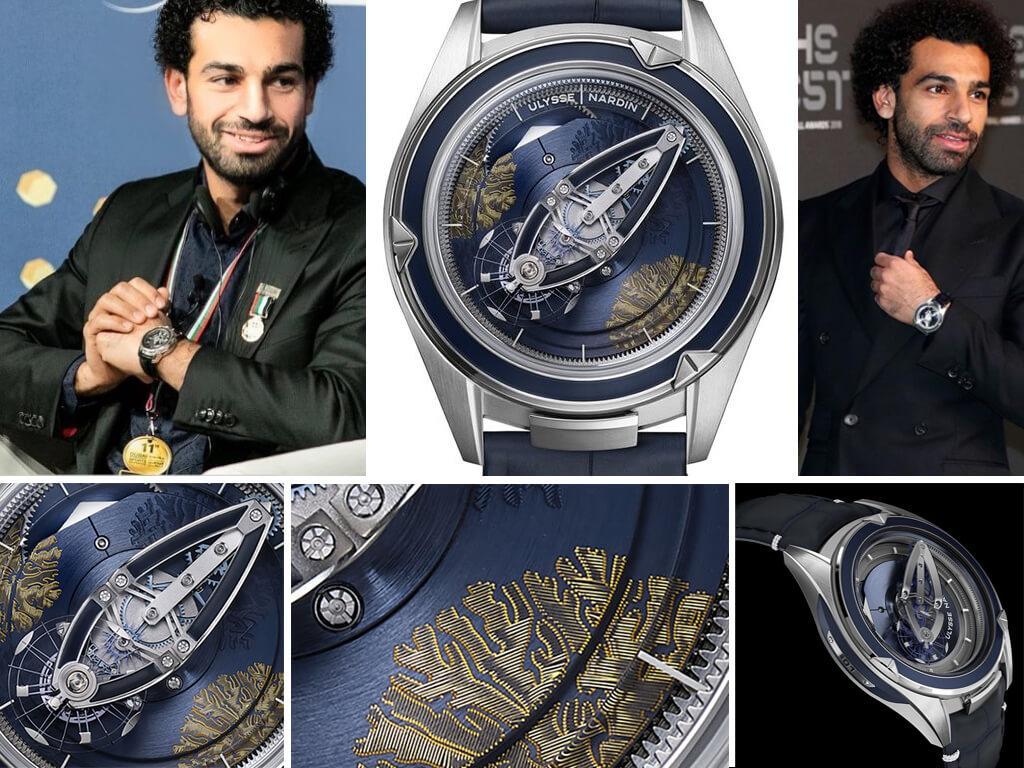 Мохаммед Салах и его часы Ulysse Nardin Freak Vision