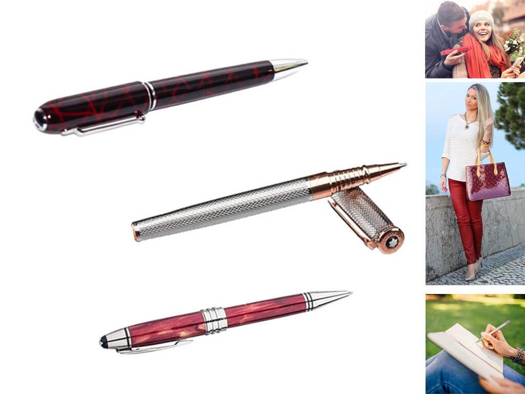 Брендовые ручки в подарок на день рождения женщинам, девушкам