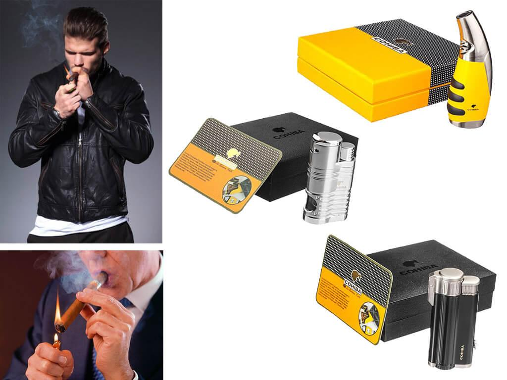 Зажигалка Cohiba для сигар